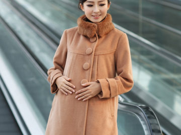 пальто для будущей мамы