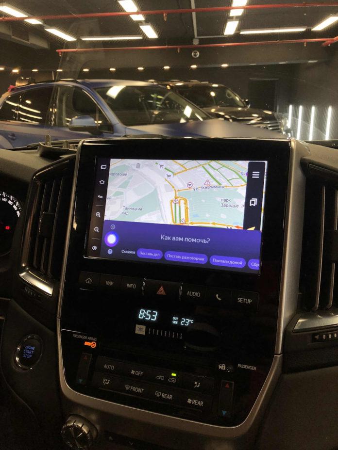 Навигация для Toyota Land Cruiser 200